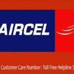 Aircel Customer Care Number for Prepaid / Postpad | Email IDs