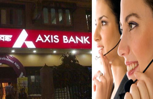 Axis bank customer care numbers