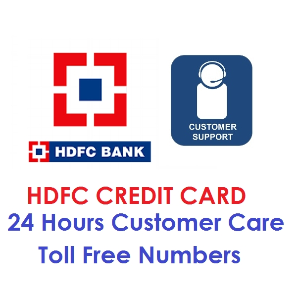 hdfc customer care numbers