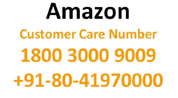 amazon customer care toll free numbers