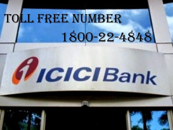 icici customer care numbers and toll free numbers