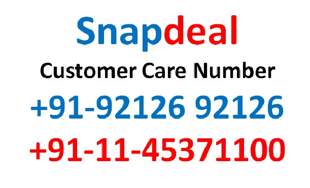 snapdeal customer care no
