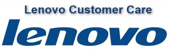 Lenovo customer care