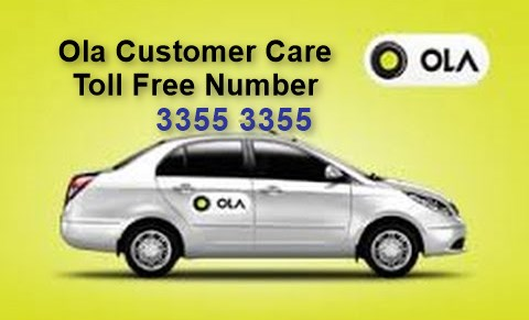 Ola Cabs Contact Number: Toll Free Ola Customer Care and